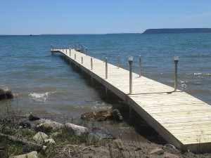 barrie island dock