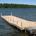 10' x 40' cedar dock