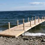 6' x 42' cedar dock