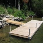 6' x 18' cedar dock